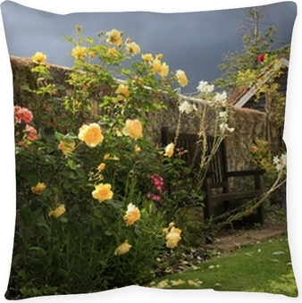 English Country Rose Garden Wall Mural O PixersR We Live To Change