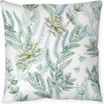 Floral seamless pattern. s Floor Pillow