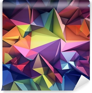 Vinyl Fotobehang Abstracte geometrische achtergrond.