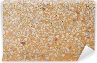 Vinyl Fotobehang Achtergrondafbeelding van oude terrazzovloer