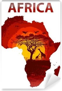 Vinyl Fotobehang Africa