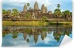 Vinyl Fotobehang Angkor Wat, Siem Reap, Cambodja.