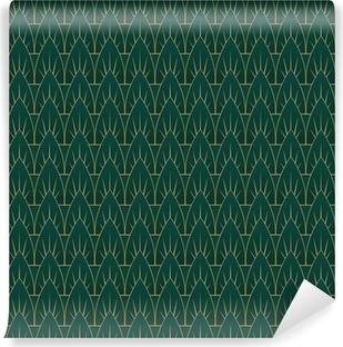 Vinyl Fotobehang Art Deco Verlaat Patroon
