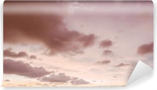 Vinyl Fotobehang Avond lucht en de wolken