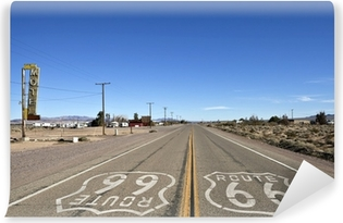 Vinyl Fotobehang Bagdad Californië - Historic Route 66
