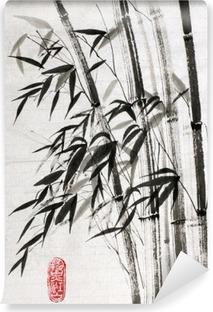Vinyl Fotobehang Bamboe is een symbool van een lang leven en welvaart