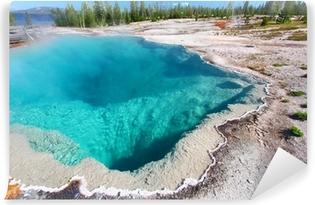 Vinyl Fotobehang Black Pool Yellowstone National Park