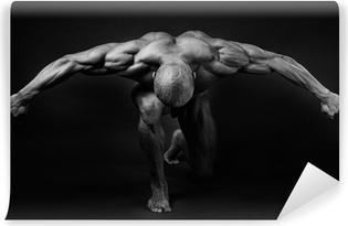 Vinyl Fotobehang Bodybuilding.