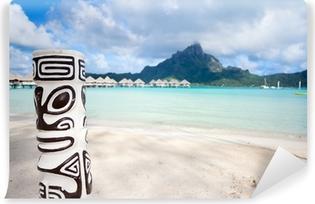 Vinyl Fotobehang Bora Bora strand