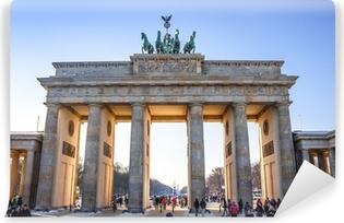 Vinyl Fotobehang Brandenburg Gate in Berlin - Germany