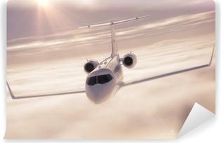 Vinyl Fotobehang Business jet