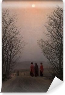 Vinyl Fotobehang Caspar David Friedrich - Jarní ráno