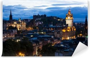 Vinyl Fotobehang Cityscape van Edinburgh