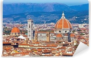 Vinyl Fotobehang Cityscape van Florence