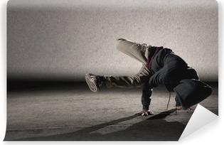 Vinyl Fotobehang Cool breakdancing stijl