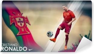 Vinyl Fotobehang Cristiano Ronaldo