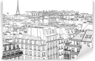 Vinyl Fotobehang Daken in Parijs