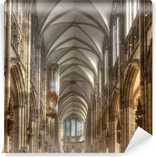 Fotobehang Dom van Keulen in de nacht, Duitsland • Pixers® - We ...