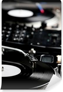Vinyl Fotobehang Draaischijf