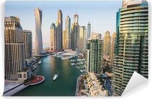 Vinyl Fotobehang Dubai Marina, Verenigde Arabische Emiraten.