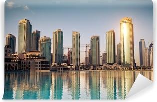 Vinyl Fotobehang Dubai stad
