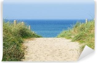 Vinyl Fotobehang Düne am Meer - Duin op de Ocean