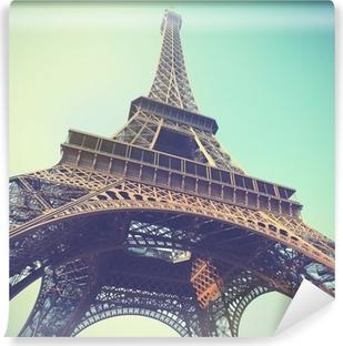 Vinyl Fotobehang Eiffel tower