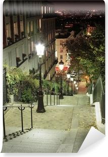Vinyl Fotobehang Escalier Montmartre