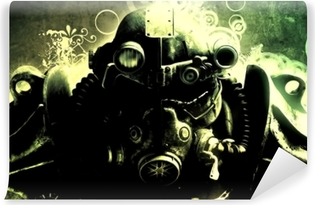 Vinyl Fotobehang Fallout