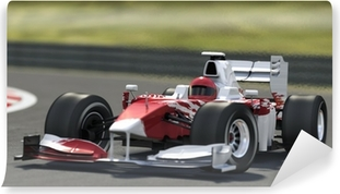 Vinyl Fotobehang Formule een racewagen