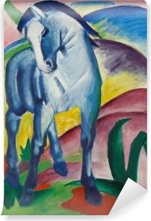 Vinyl Fotobehang Franz Marc - Modrý kůň