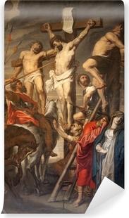 Vinyl Fotobehang Gent - Christus op het Kruis door Rubens