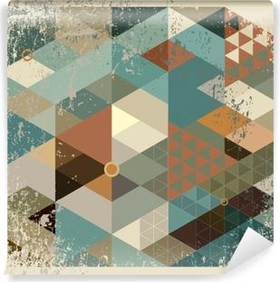 Vinyl Fotobehang Geometrische achtergrond.