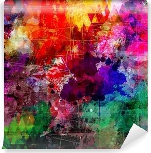 Vinyl Fotobehang Grunge stijl abstracte aquarel achtergrond