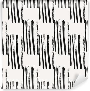 Vinyl Fotobehang Hand getekende abstracte Naadloze Patroon