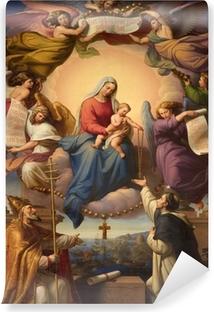 Vinyl Fotobehang Heilige Maria en de kleine Jezus uit Wenen kerk