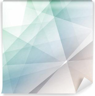Vinyl Fotobehang Hipster moderne transparante geometrische achtergrond
