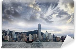 Vinyl Fotobehang Hong Kong