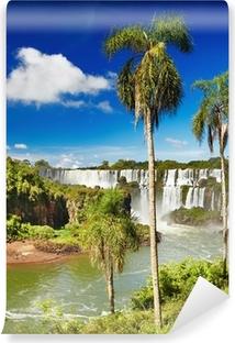 Vinyl Fotobehang Iguazú, uitzicht vanuit Argentijnse kant
