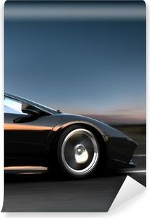 Vinyl Fotobehang Italiaanse sportwagen