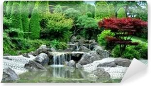 Vinyl Fotobehang Japanischer Garten