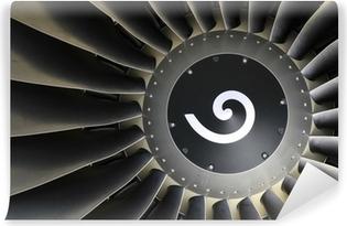Vinyl Fotobehang Jet-engine