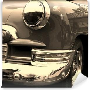 Vinyl Fotobehang Klassieke auto