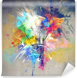 Vinyl Fotobehang Kleurrijke Licht