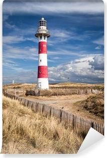 Vinyl Fotobehang Lighthouse in Nieuwpoort. Belgium.