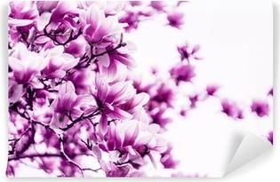 Vinyl Fotobehang Magnolia bloesem