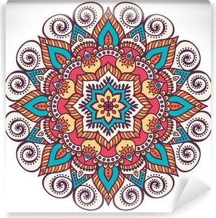 Vinyl Fotobehang Mandala in etnische stijl