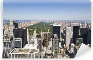 Vinyl Fotobehang Manhattan Van hoog gezichtspunt