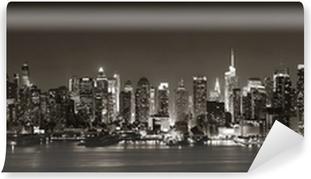 Vinyl Fotobehang Midtown Manhattan Skyline