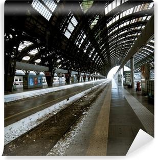 Vinyl Fotobehang Milan station architectuur